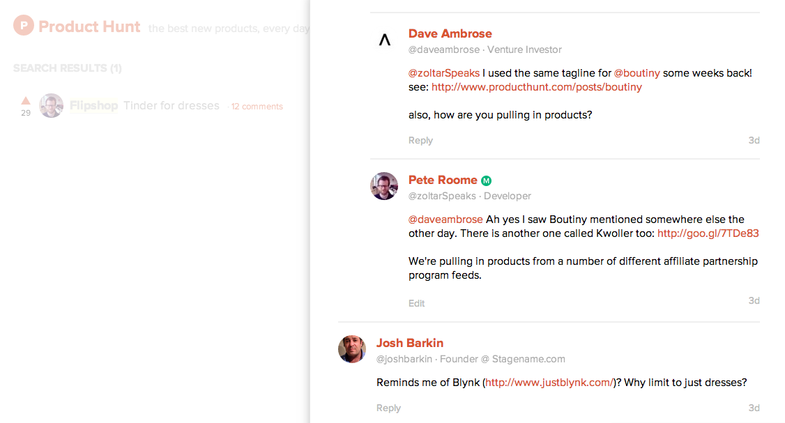 What it's like to be listed on Product Hunt, twice.